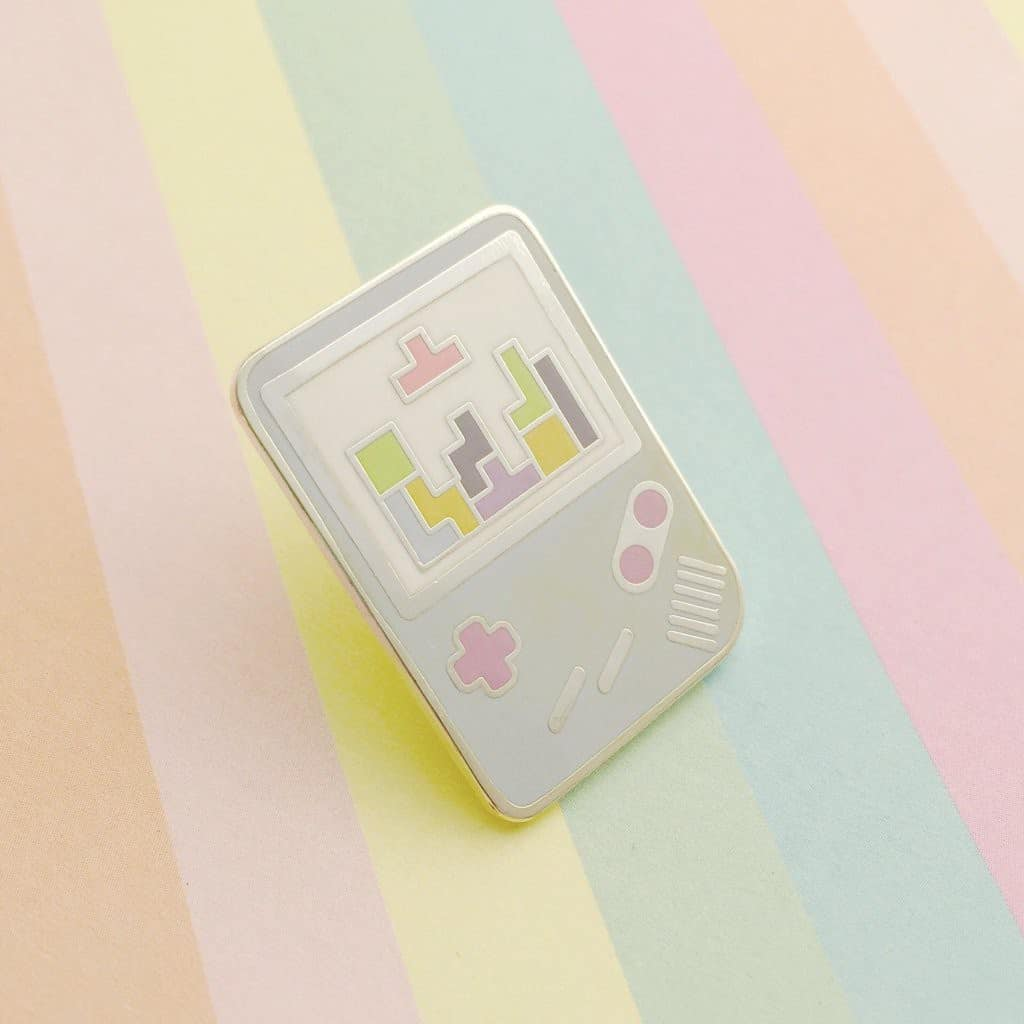 HOYFC Gameboy Tetris Pin