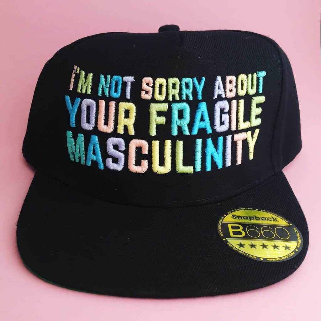 HOYFC I'm Not Sorry About Your Fragile Masculinity Snapback Cap