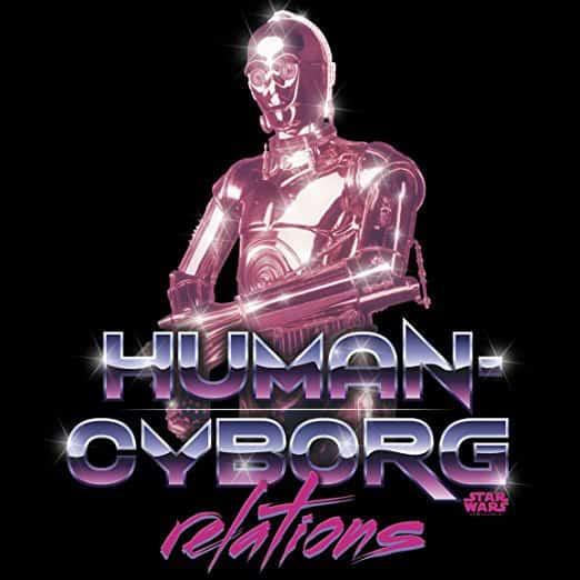 Star Wars Human Cyborg Relations Tshirt Easyfit