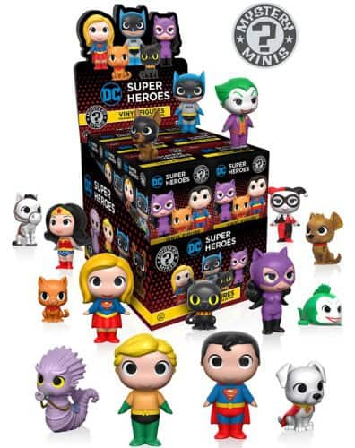 Funko Mystery Minis DC - Heroes with Pets Variant Mix 1 Mini Fig 6cm Blind Box