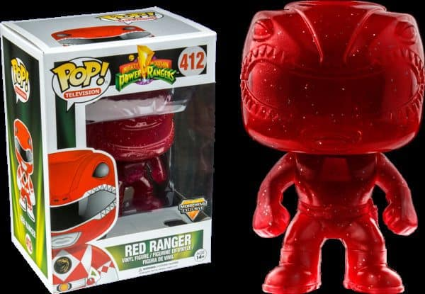 Funko POP! TV: Power Rangers - Red Ranger Morphing LE