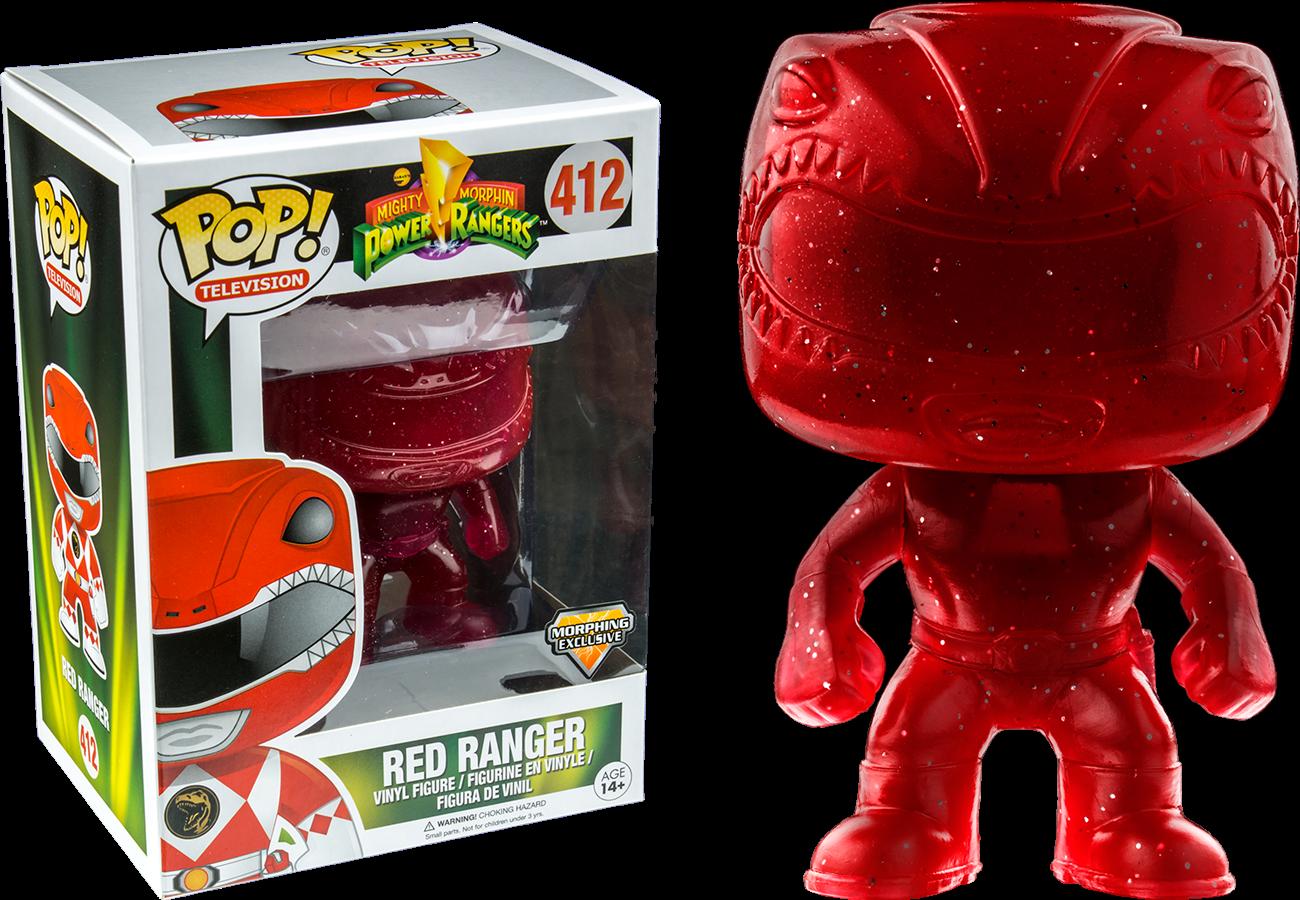 Funko POP! TV: Power Rangers - Red Ranger Morphing LE
