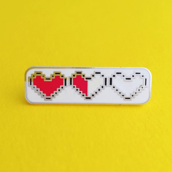HOYFC Heart Container Pin