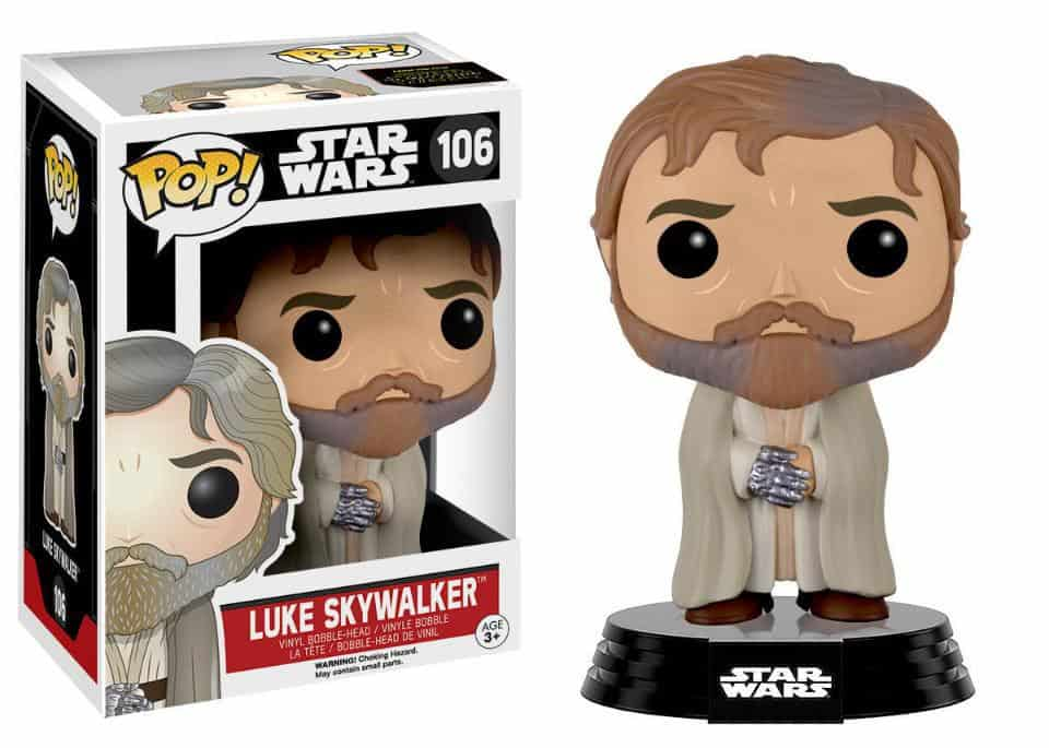 Funko POP! SW VII - Bearded Luke Skywalker Bobble Head 10cm