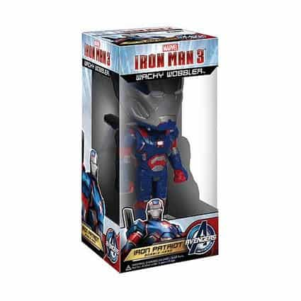 Funko Iron Man 3 - Iron Patriot Wacky Wobbler bobble Head 15cm
