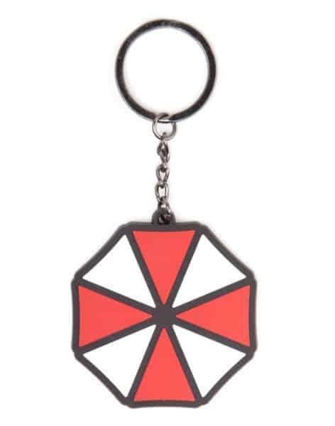 Resident Evil - Umbrella Logo Rubber Keychain