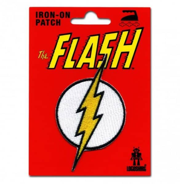 DC - Flash logo Patch