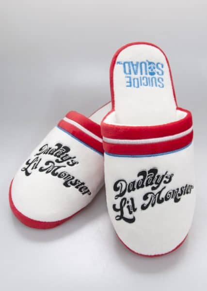 Harley Quinn Daddy's Lil' Monster Slippers