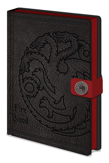 Game of Thrones Premium Notebook A5 Targaryen