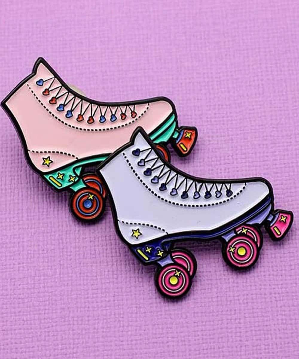 Punky Pins Roller Skate Pin