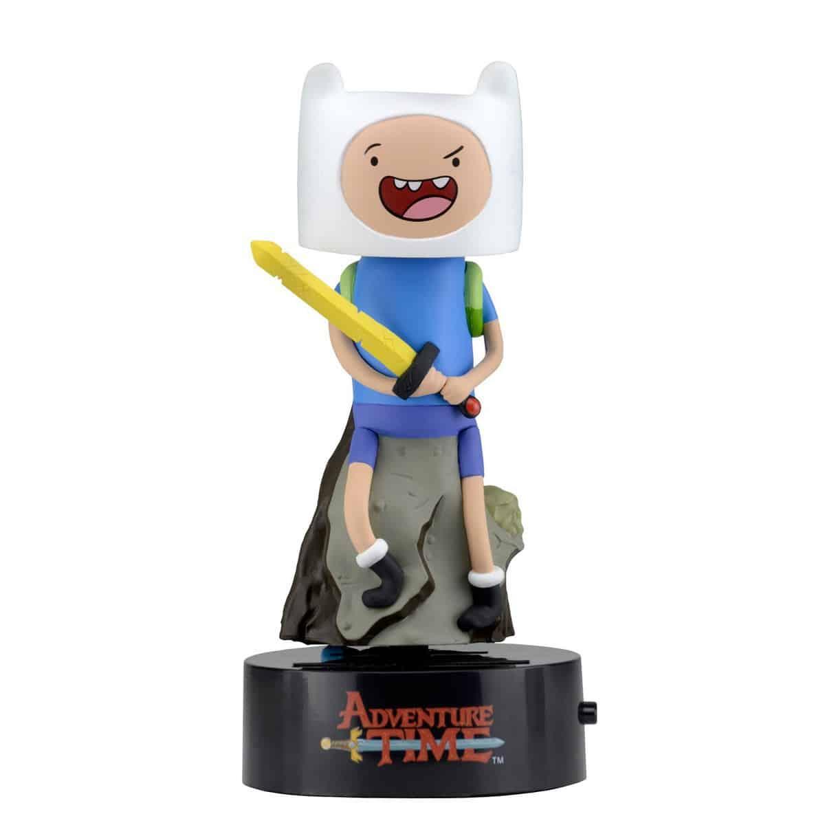 Adventure Time Finn Solar Powered Body Knocker 15cm Bobble Head
