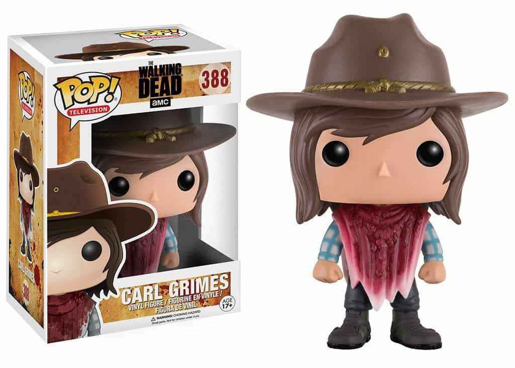 Funko POP! Walking Dead Television Vinyl Figure Carl Grimes 9 cm