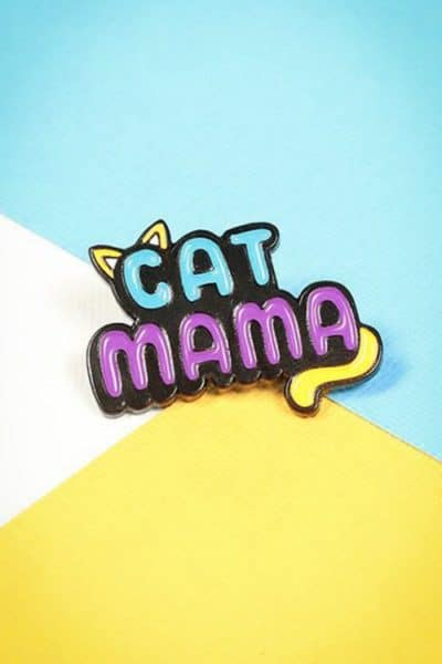 Punky Pins Cat Mama Pin