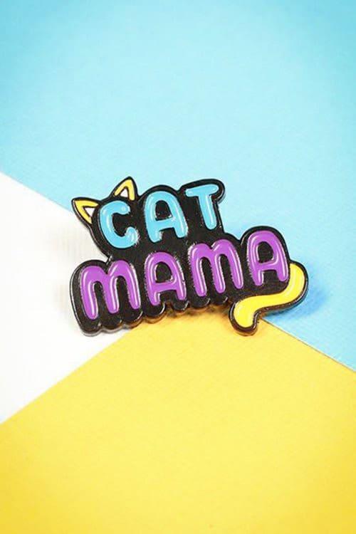 Punky Pins Cat Mama Pin