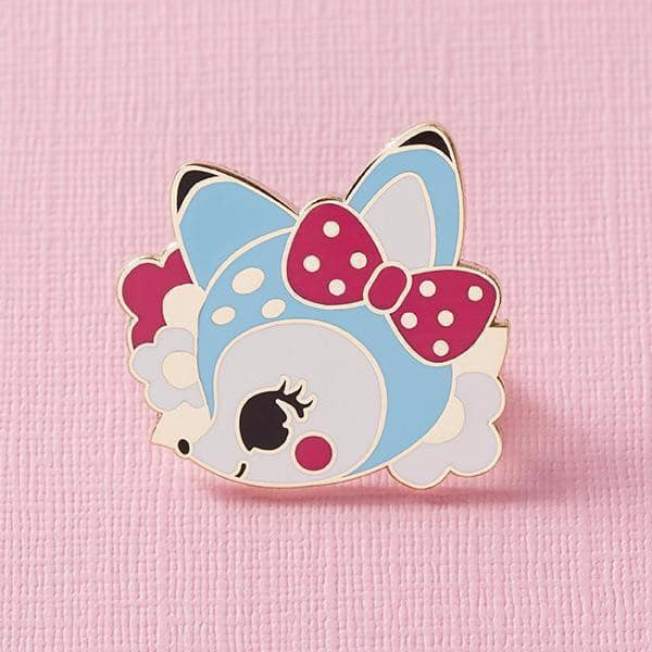Punky Pins Retro Cuties Deer Pin