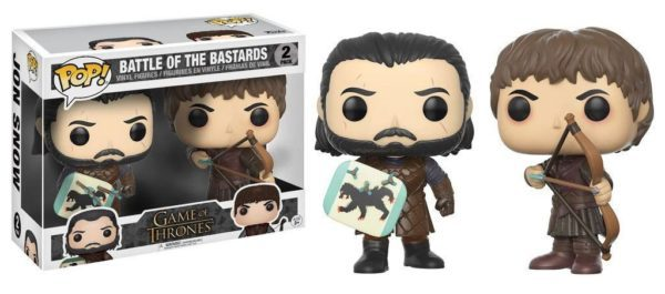 Funko POP! Game of Thrones Vinyl Figures 2-Pack Battle of the Bastards 9 cm