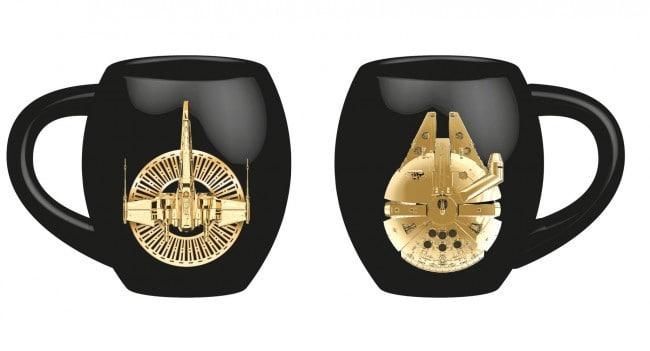 Star Wars Episode VIII Deluxe Mug Golden Starships