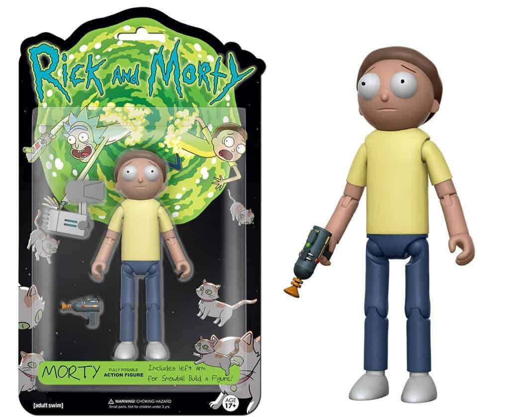 Rick & Morty Action Figure 13 cm