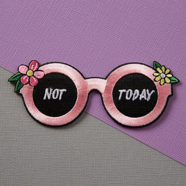 Punky Pins Not Today Patch