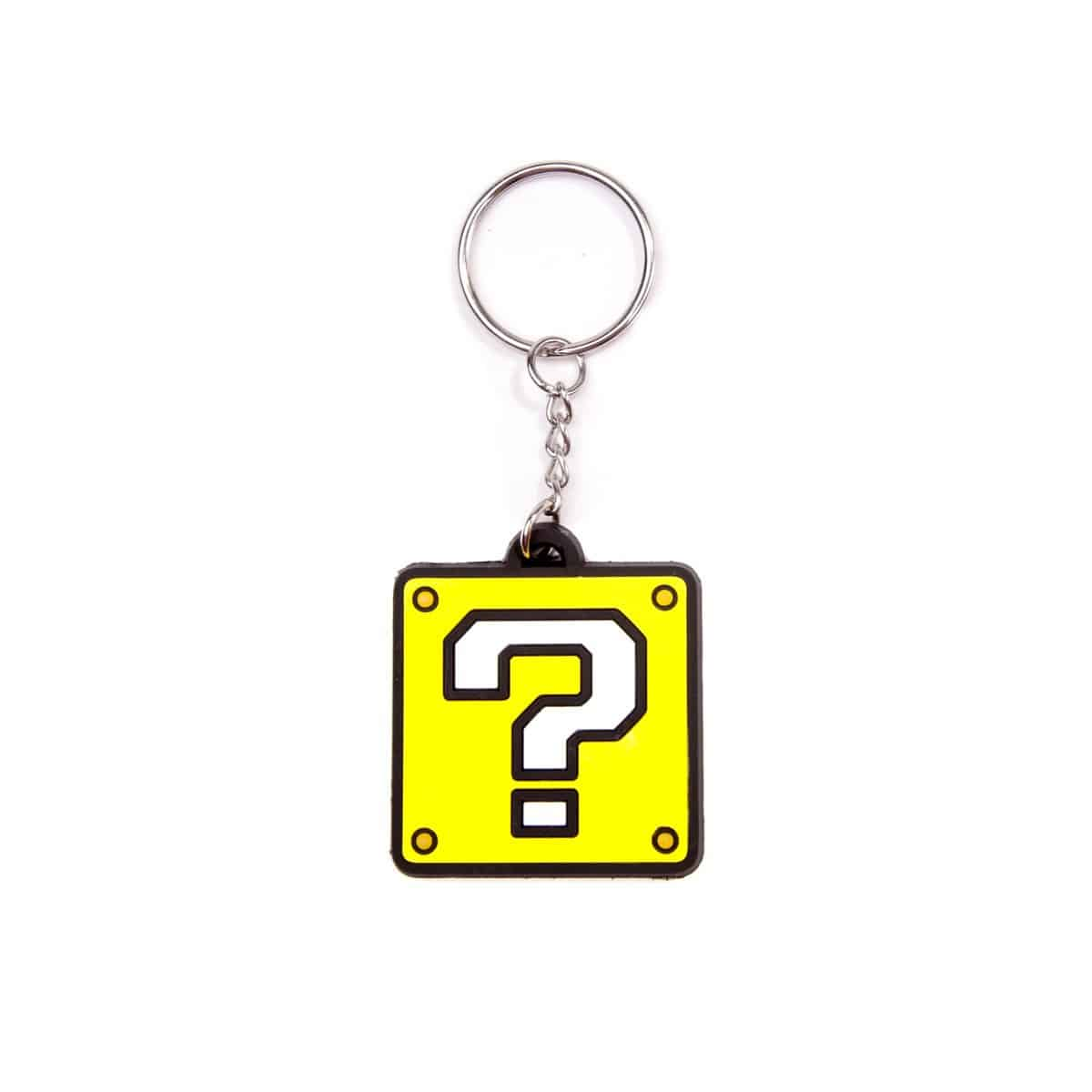 Nintendo - ? Block Rubber Keychain