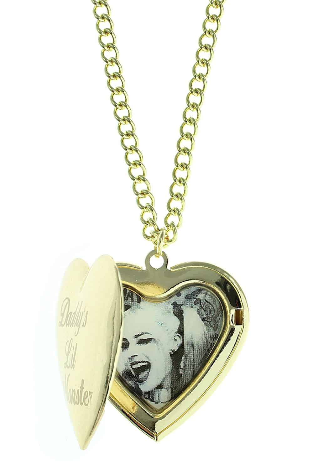 Daddy's Lil Monster Locket Necklace