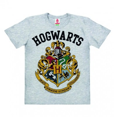 Harry Potter - Hogwarts Logo T-shirt Organic Kid