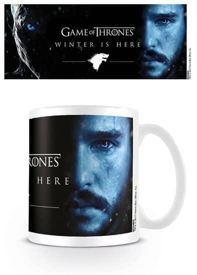 Game of Thrones Mug Winter Is Here - Jon
