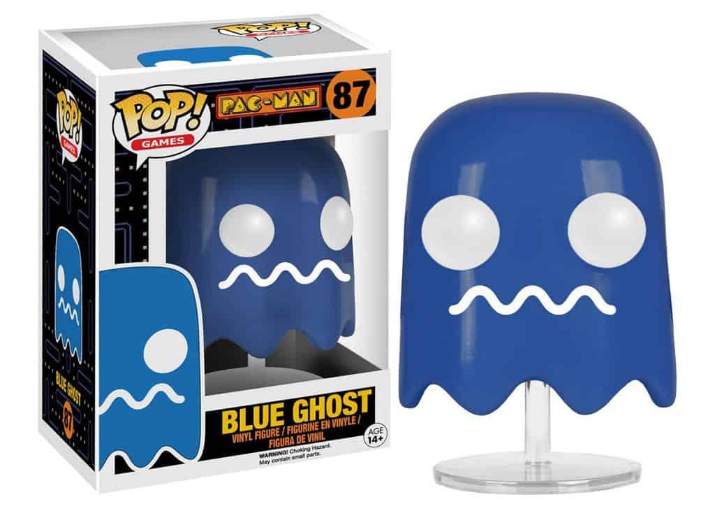 Funko POP! Games - PAC-MAN Blue Ghost Vinyl Figure 10cm