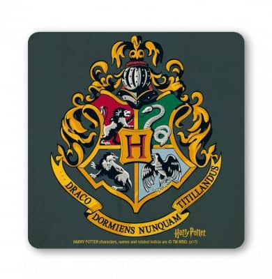 Harry Potter - Hogwarts Logo Coaster