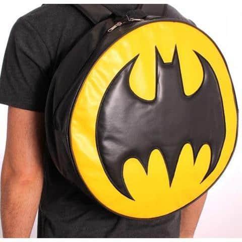 Batman Round Logo Backpack