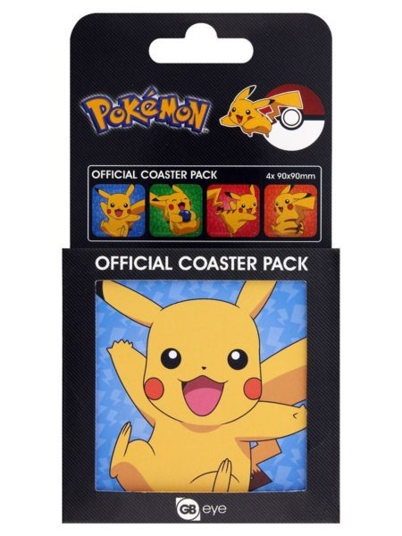 Pokémon Coaster 4-pack Pikachu