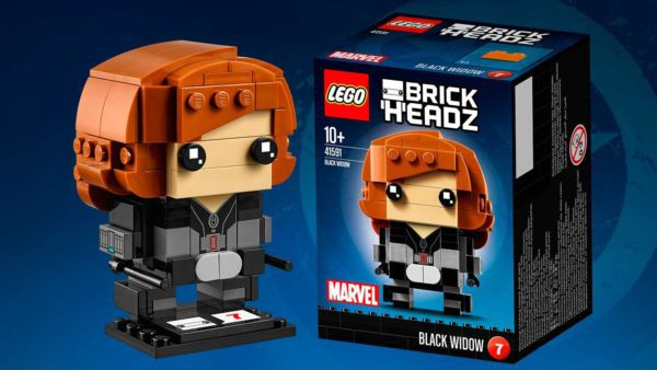 LEGO® BrickHeadz Captain America Civil War Black Widow