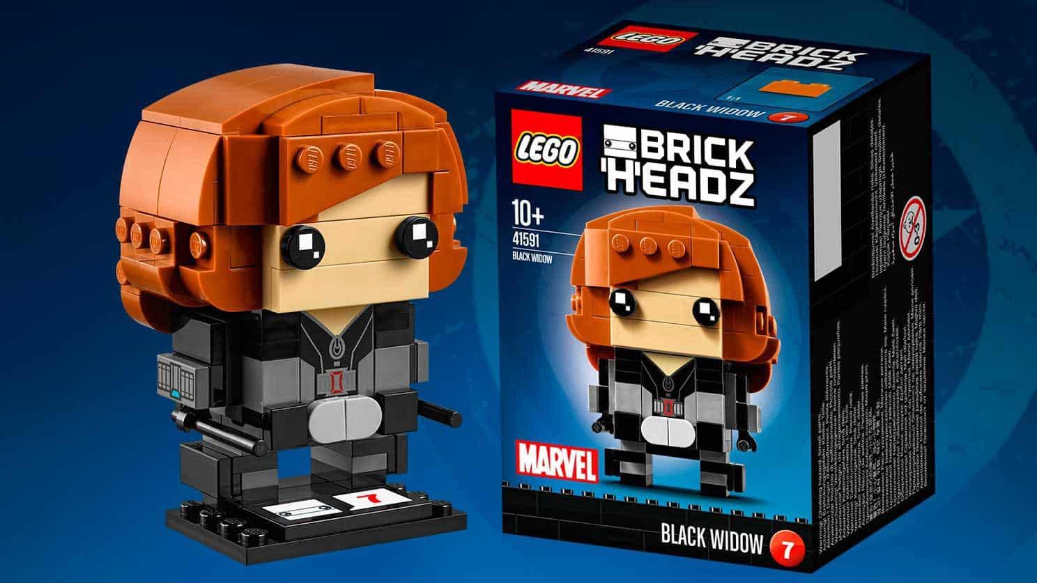 LEGO® BrickHeadz Captain America Civil War Black Widow