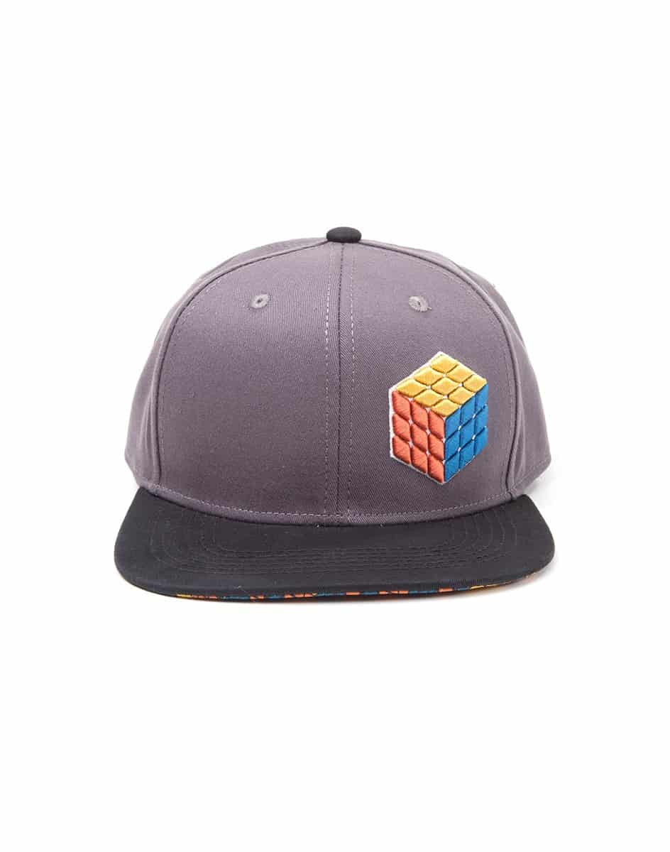 Rubik's Cube - 3D Logo Snapback