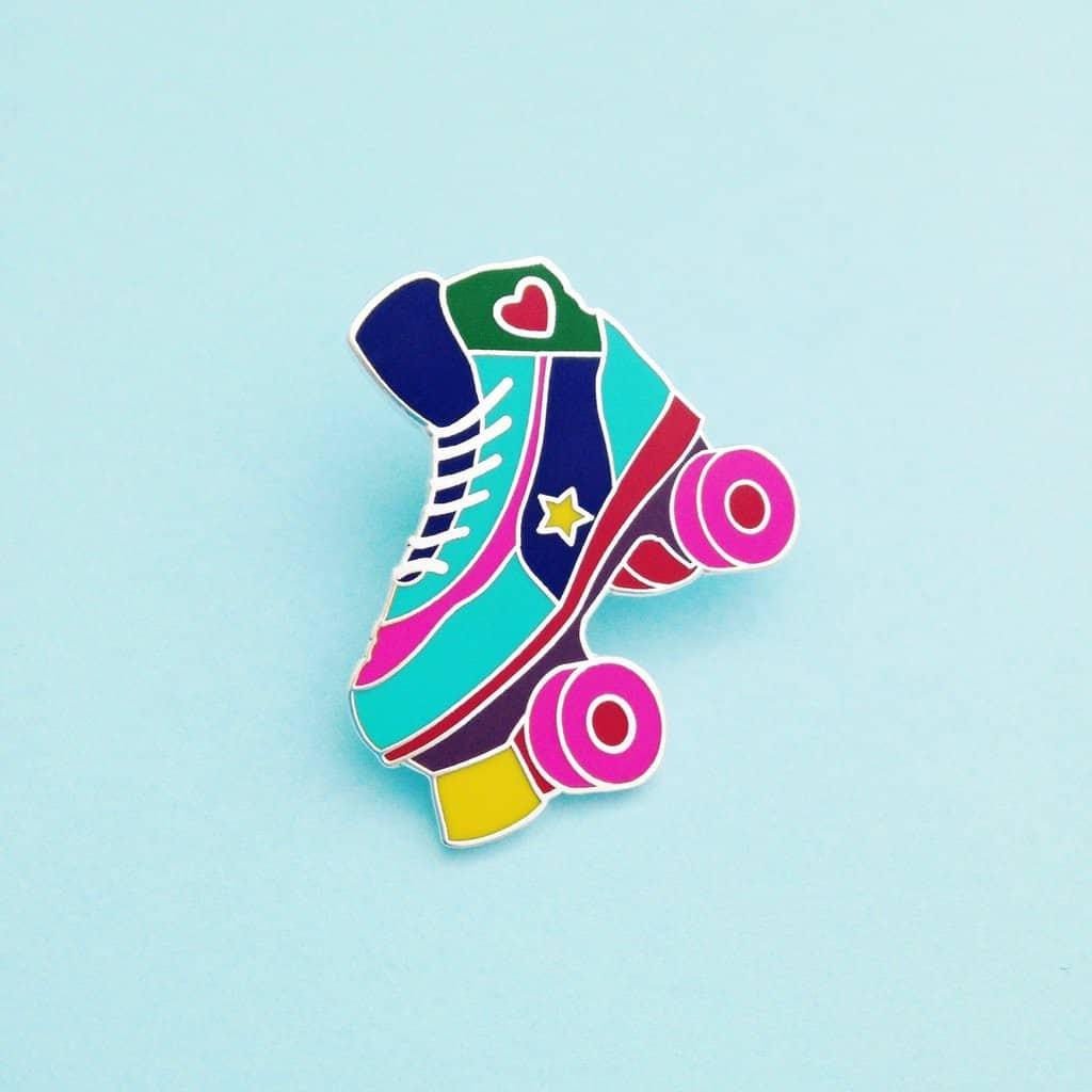 HOYFC Roller Skate Pin