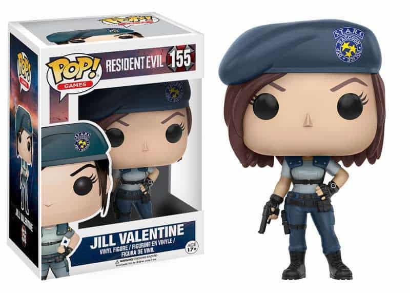 Funko POP! Games Resident Evil - Jill Valentine Vinyl Figure 10cm