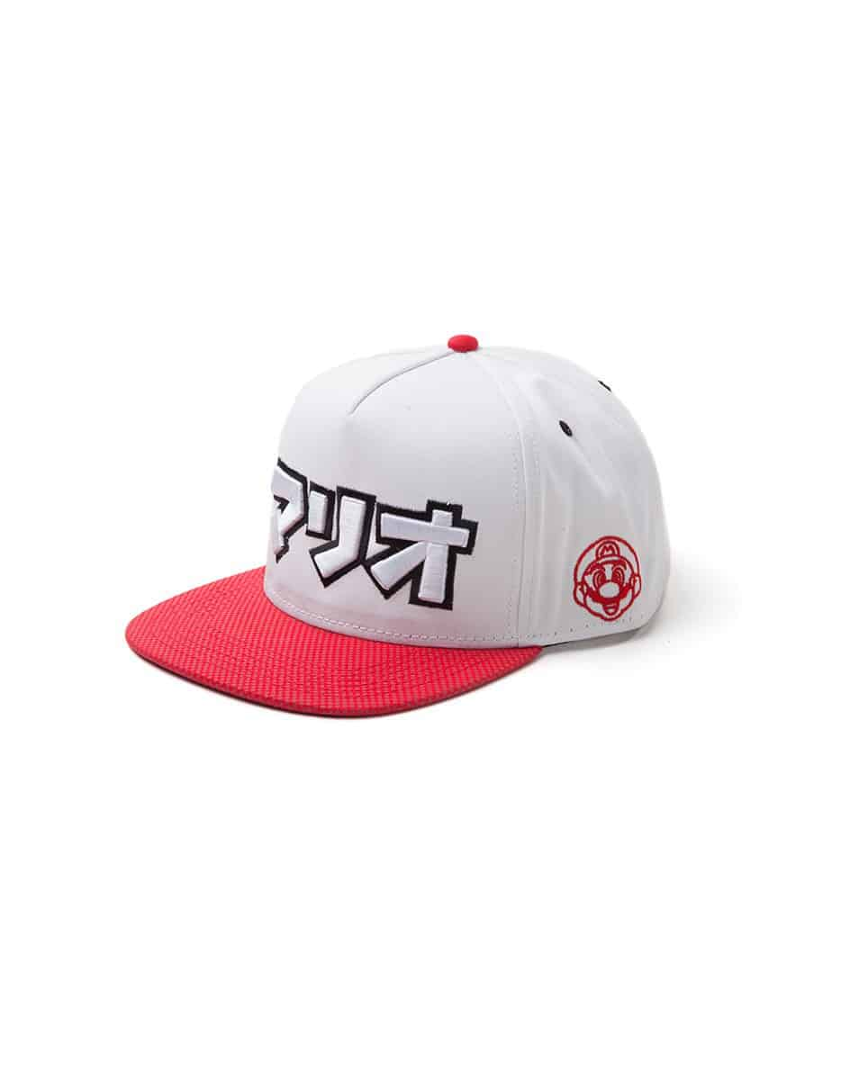 Nintendo - Super Mario Japanese Logo Snapback