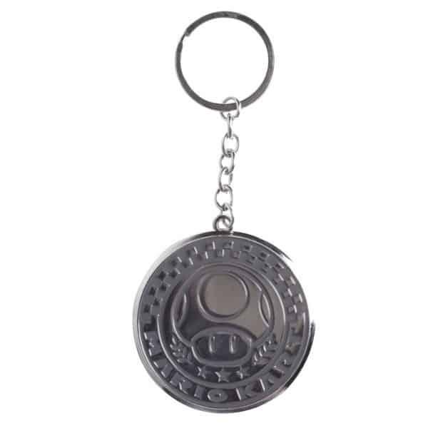 Nintendo - Mario kart metal round keychain