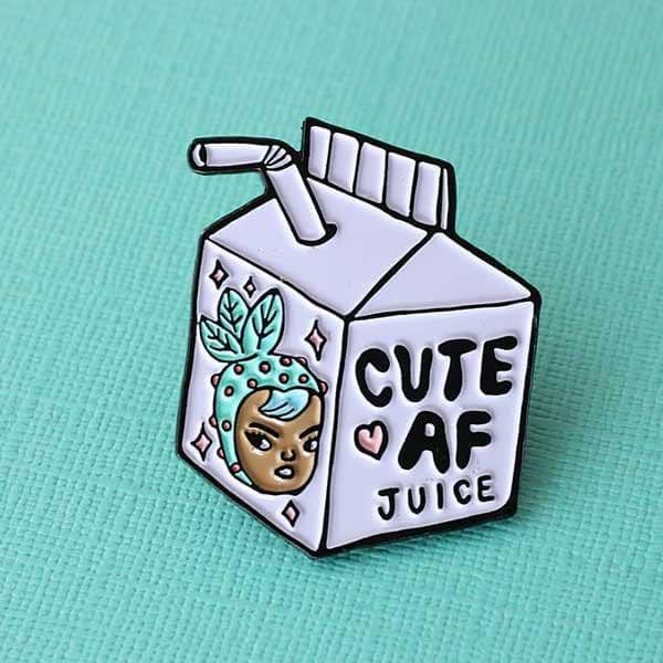 Punky Pins Cute AF Juice