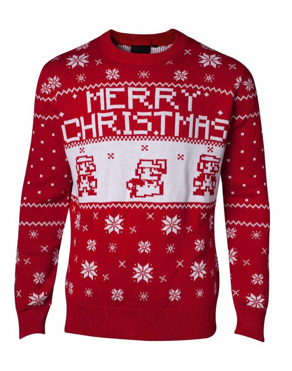 Nintendo - Super Mario Knitted X-Mas Sweater