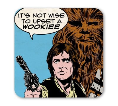 Star Wars - Upset a Wookie Coaster