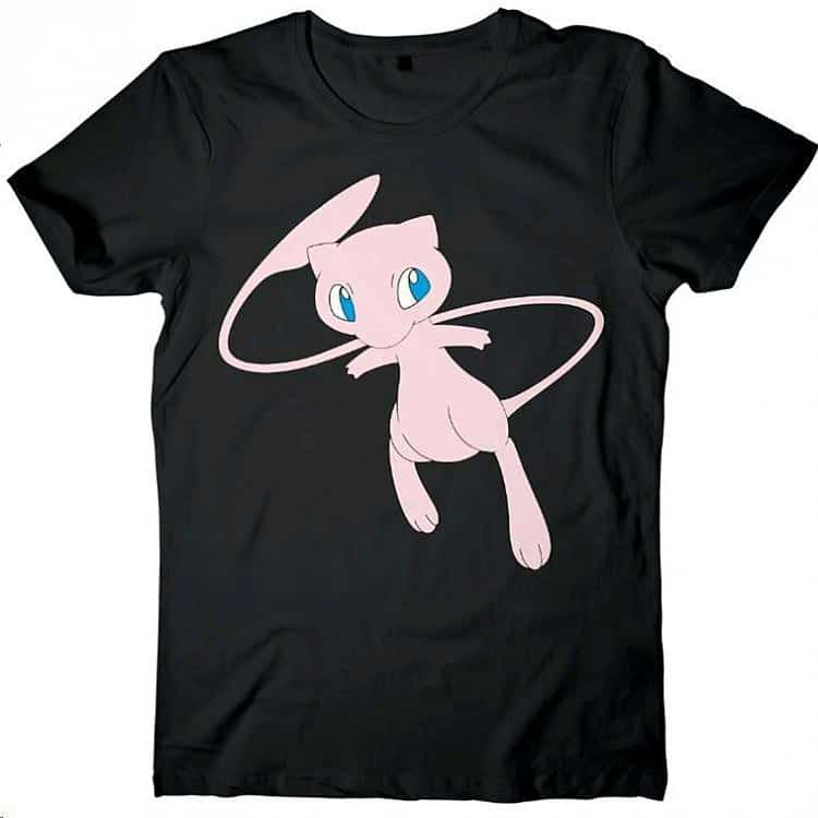 Pokémon T-Shirt Mew 20th Anniversary Mythical Characters Limited Edition