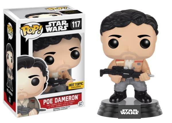 Funko POP! SW VII - Poe Dameron Resistance Bobble Head 10cm limited