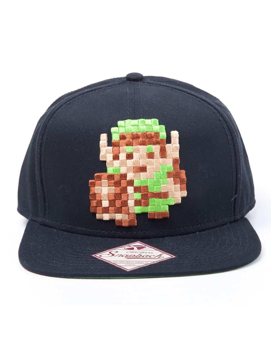 Zelda - Snapback Cap, Pixel Link 8 bit