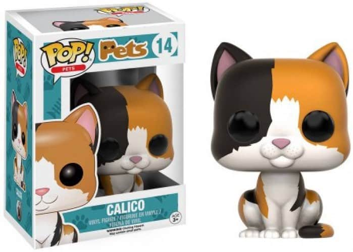 Funko POP! Pets Cats - Calico Vinyl Figure 10cm