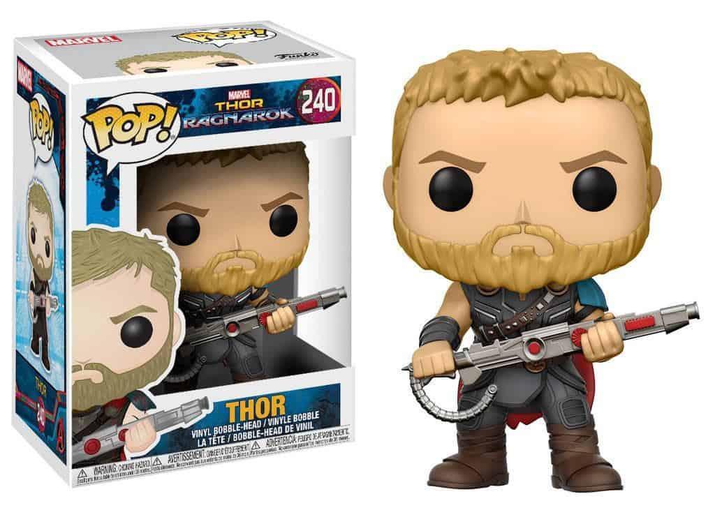 Funko POP! Thor Ragnarok Movies Vinyl Figure Thor 9 cm