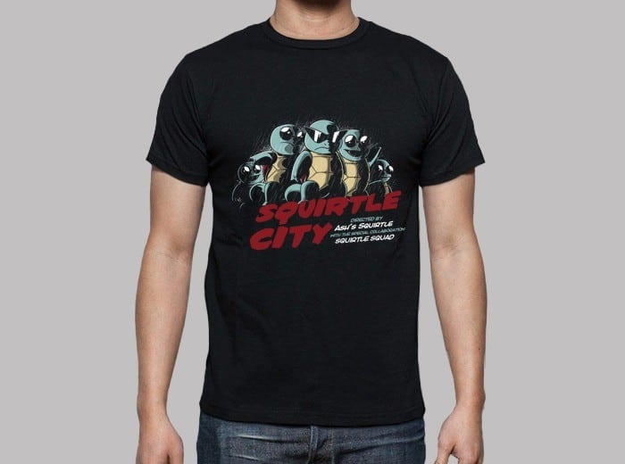 Squirtle City t-shirt