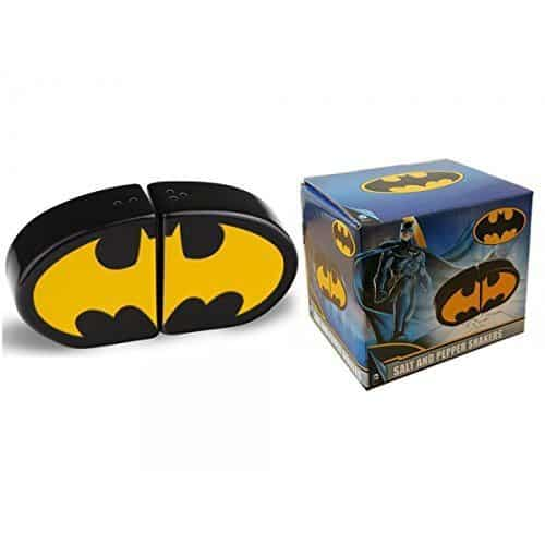 Batman Salt and Pepper Shaker Logo