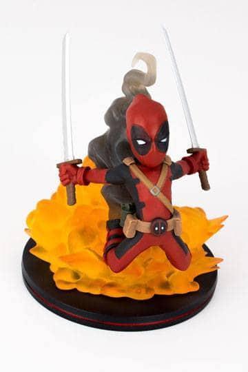 Marvel Comics Q-Figure Deadpool LC Exclusive 15 cm