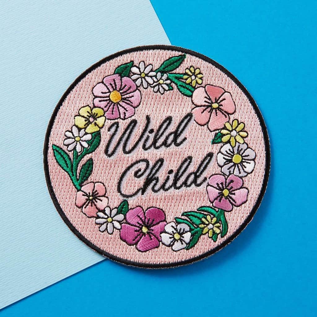Punky Pins Wild Child Patch